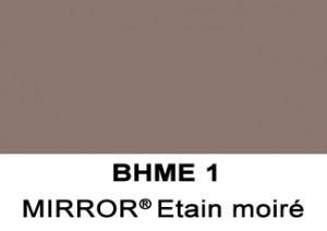Barrisol Mirror - Etain moire